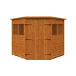 Tiger Deluxe Corner Shed Front