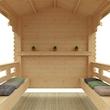 Garden Shelter Interior