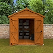Tiger Heavyweight Workshop Shed Lifestyle Front Open