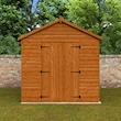 Tiger Heavyweight Workshop Shed Lifestyle Front Closed