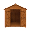 Tiger Heavyweight Workshop Shed   Special Log Board Cladding Front