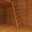 Two storeys - more room for fun!