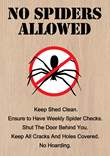 No Spider Sign
