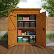 Overlap Double Toolshed - Lifestyle