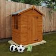 Compact playhouse design