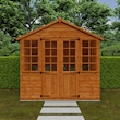 Summerhouse 6x8 Lifestyle Front Closed