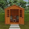 Summerhouse 6x8 Lifestyle Front Open