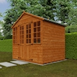 Summerhouse 6x8 Lifestyle Right Closed