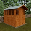 Summer Shed 8x6 Lifestyle Left