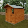 Summer Shed 8x6 Lifestyle Right