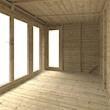Large bright Interior Space