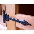 Attractive black antique hinges