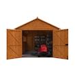 Tiger Wooden Garage Front