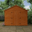 Tiger XL Heavyweight Workshop Shed Lifestyle Front