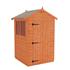 4x4 Flex Apex - Configured with door on 4ft gable
