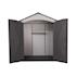 Lifetime Plastic Storage Shed - Doors open