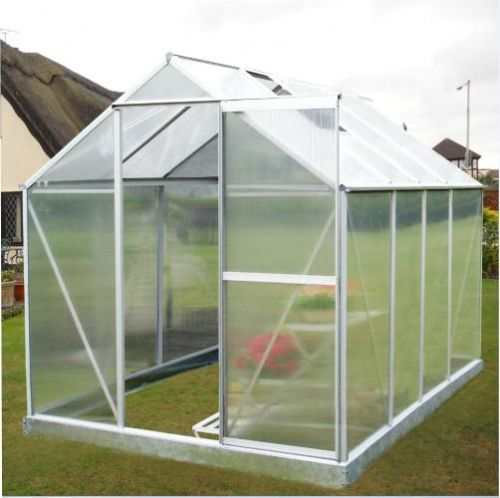 Image Shows Standard Aluminium Frame and Polycarbonate Glazing's Opaque Nature