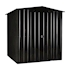 Lotus Metal Apex Shed Anthracite Grey size 4x6