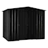 Lotus Metal Apex Shed Anthracite Grey size 5x8